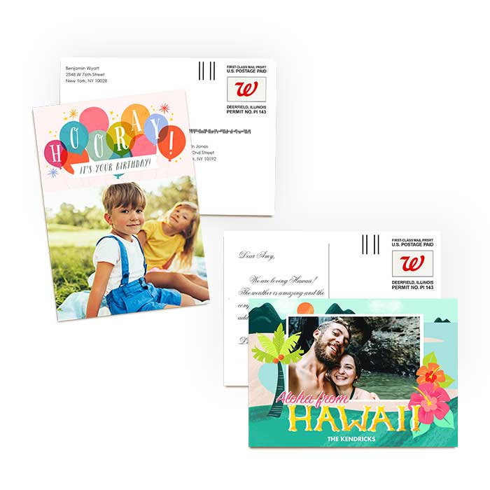 Mail-for-Me Cards