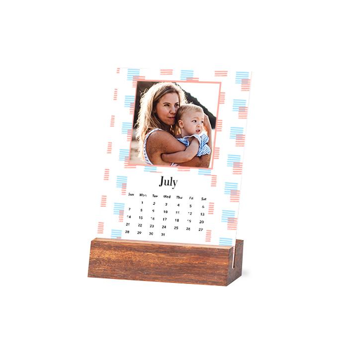 Wood Easel Calendar