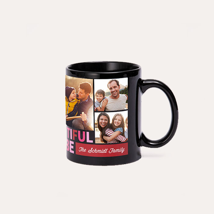 New! 11oz Black Mug