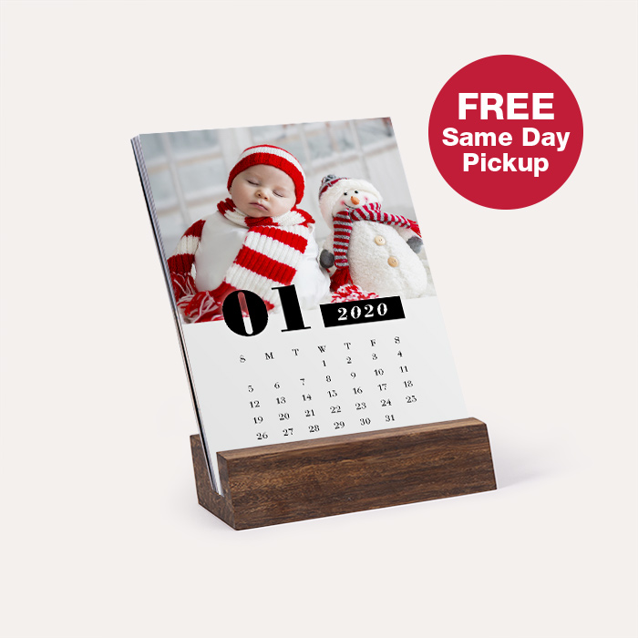FREE Same Day Pickup. Wood Easel Calendar