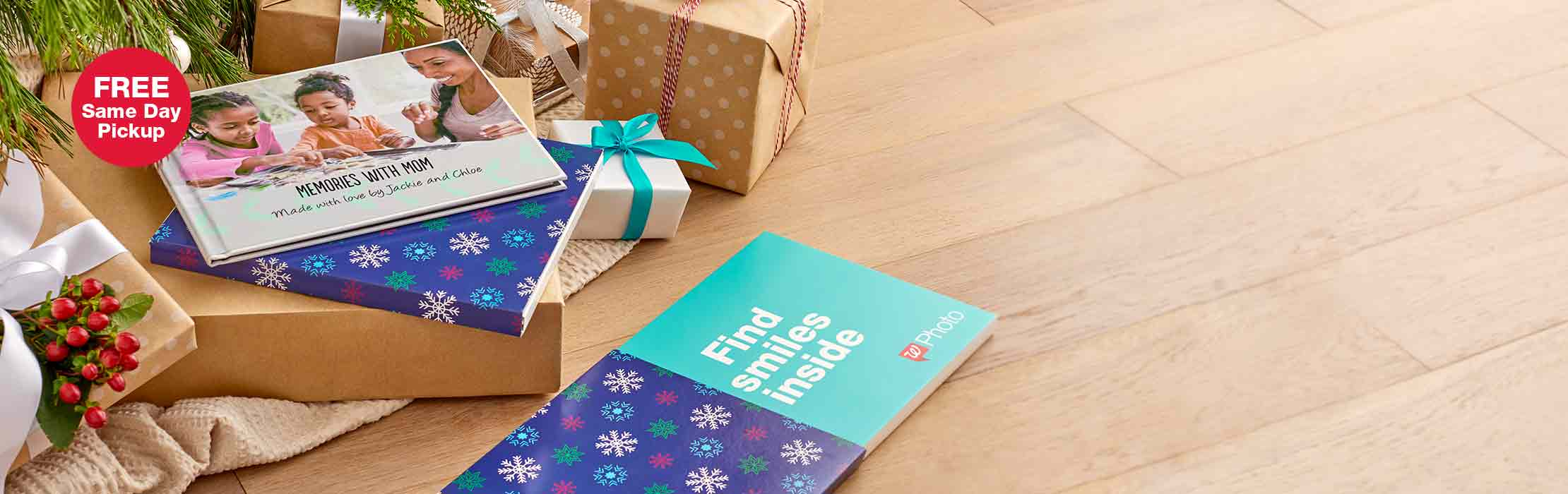 New, stylish gift packaging