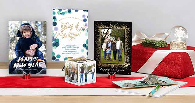 "Be New Year Ready Say ""Hello"" to 2018, your way. Create New Years Cards ›"