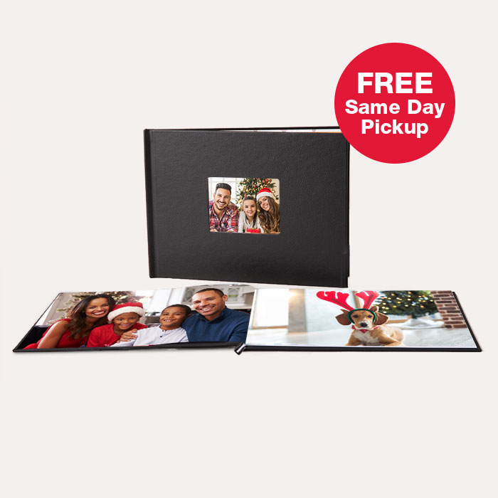 FREE Same Day Pickup. New! 8.5x11 Layflat Window Cover Photo Book