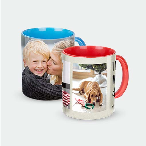 11oz. Colored Mugs