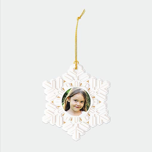 New! Snowflake Ornament