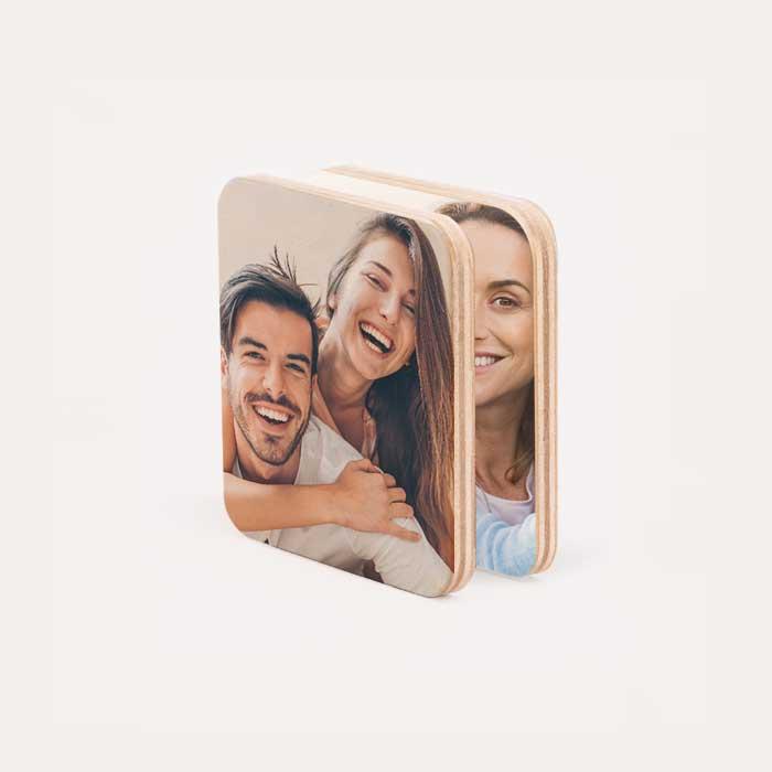 Wood Magnet Set