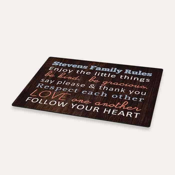New! Personalized Floor Mat