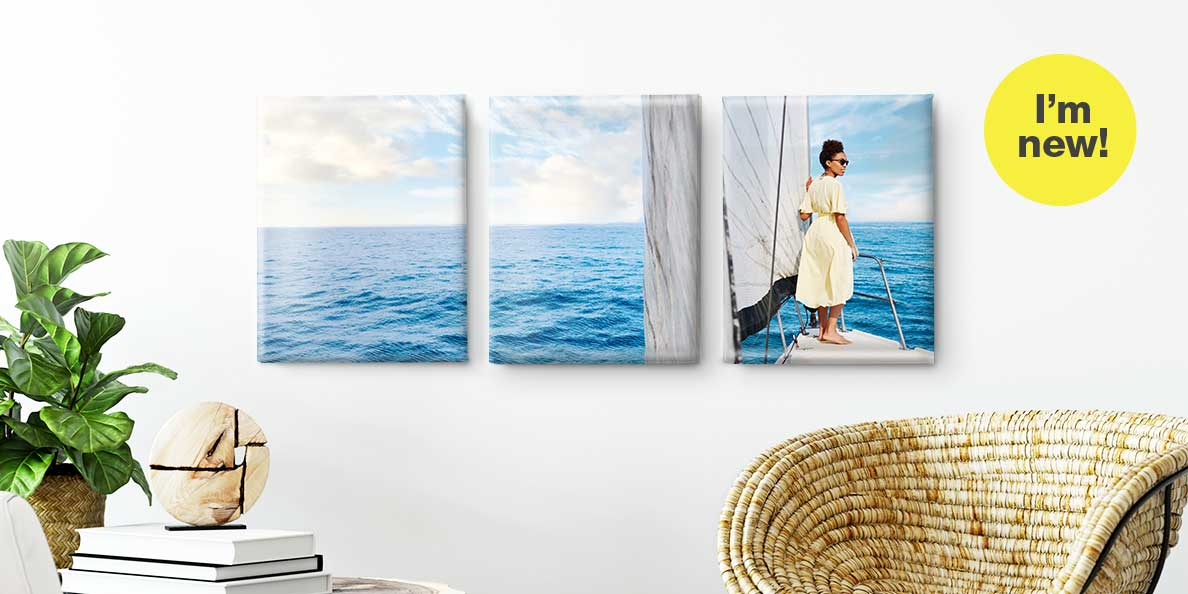I'm new. Split Canvas Prints