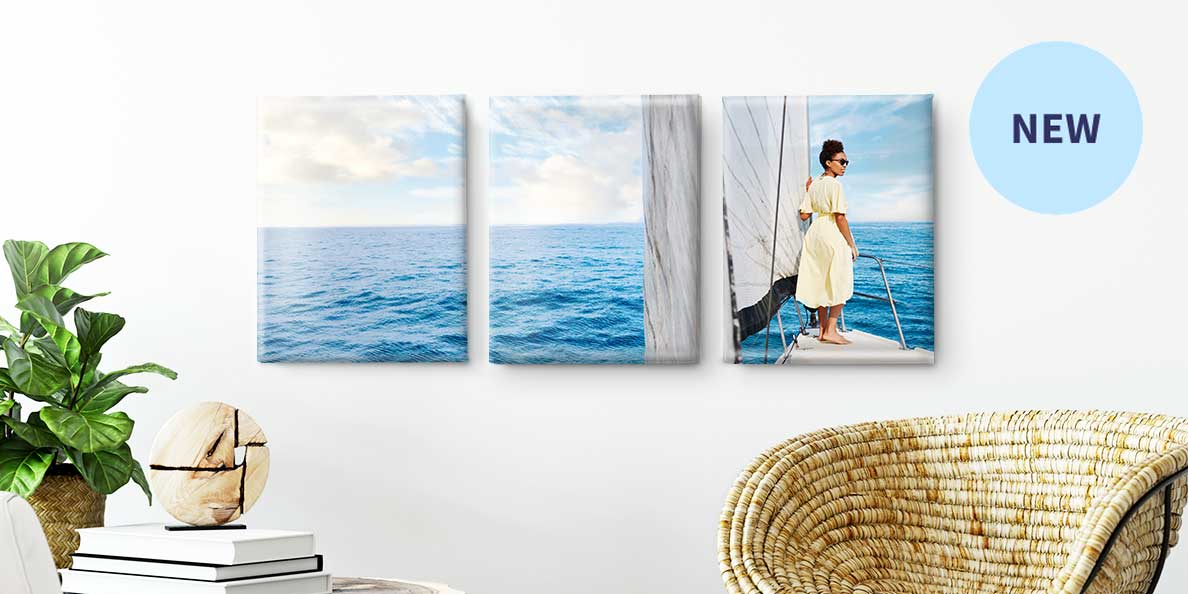 New. Split Canvas Prints