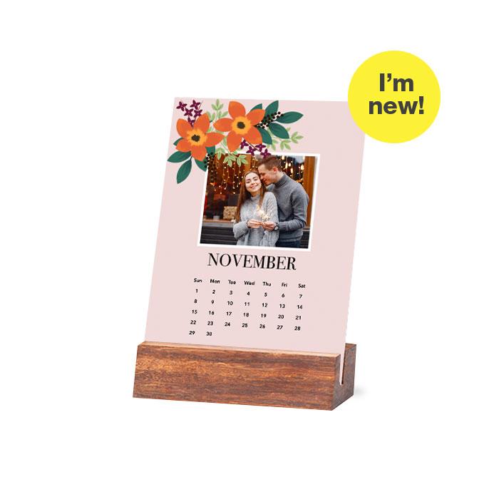 Wood Easel Calendar image