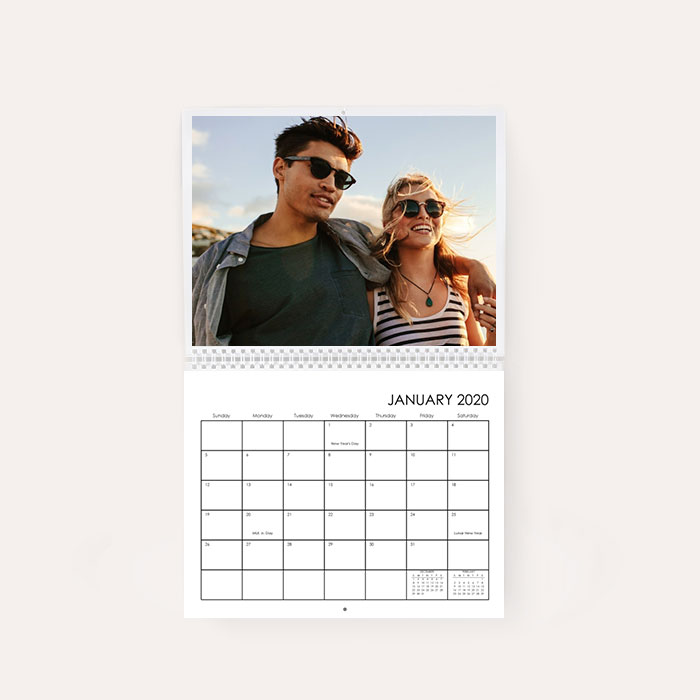 8x11 Wall Calendar