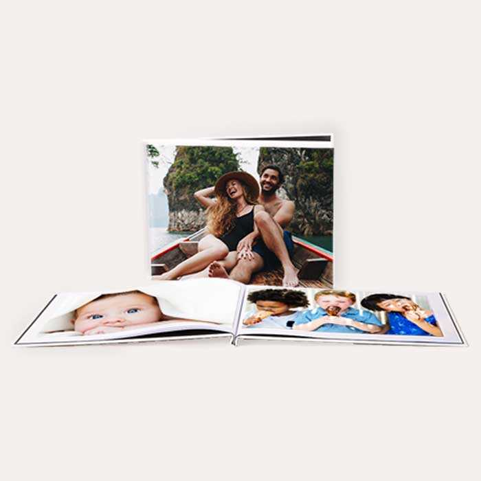 8.5x11 Layflat Custom Cover Photo Books