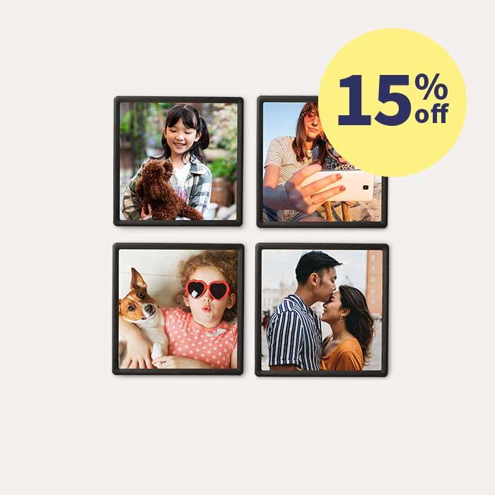 15% off Framed Magnet Sets