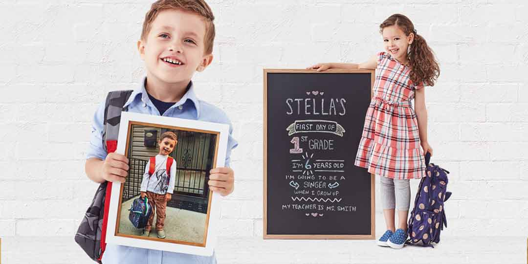 First Day Photo Ideas