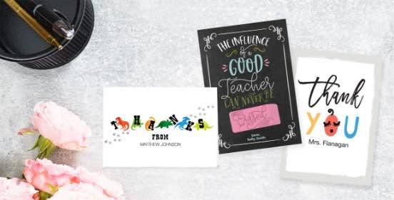 Shop Teacher Appreciation Cards
