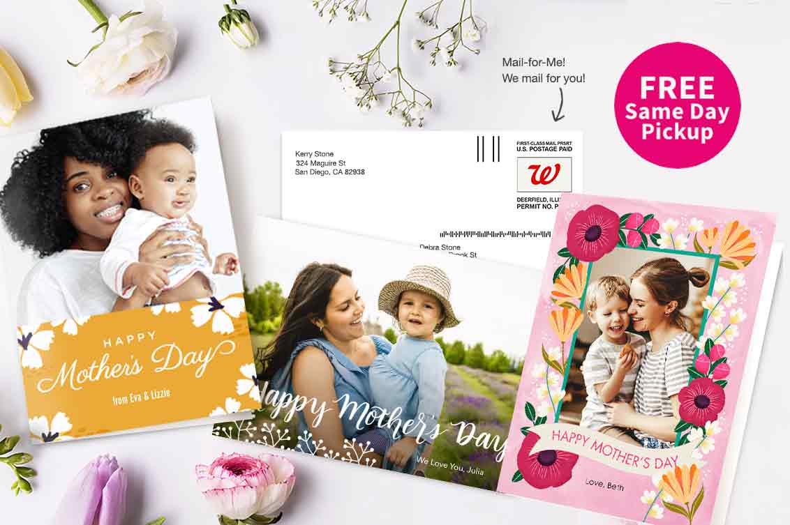 FREE Same Day Pickup. Send Mom a card of love & appreciation.