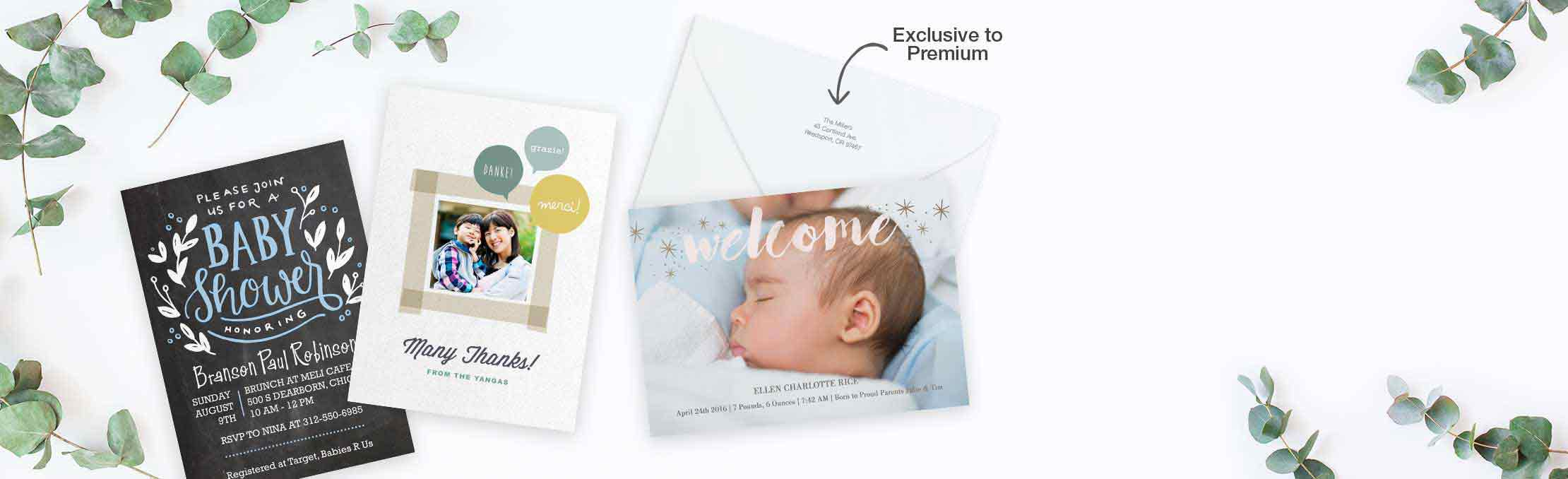 NEW! Premium Cards Send a meaningful message on our thickest cardstock yet. Create now ›