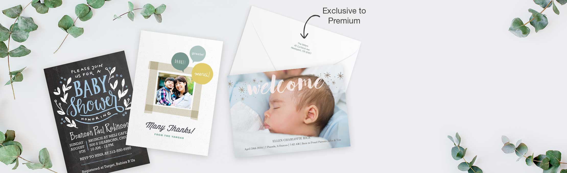 NEW!Premium Cards Send a meaningful message on our thickest cardstock yet. Create now