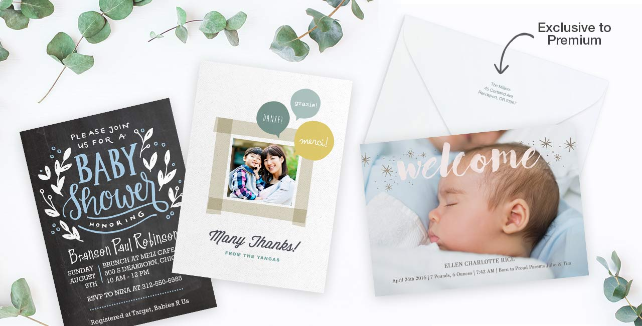 NEW!Premium Cards Send a meaningful message on our thickest cardstock yet. Create now ›