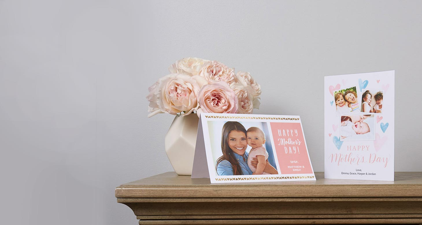 Mother's Day Cards Heartfelt wishes for the woman who's always been there. Create now