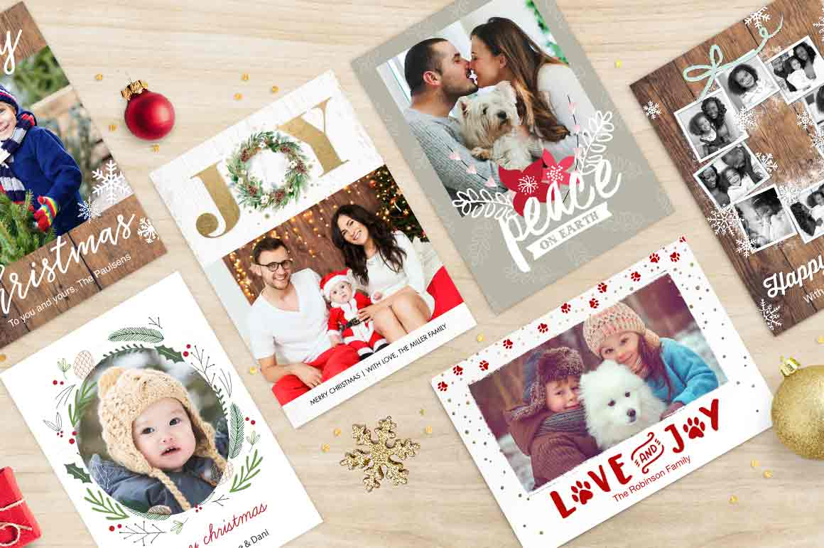 Christmas Photo Cards - Create Holiday