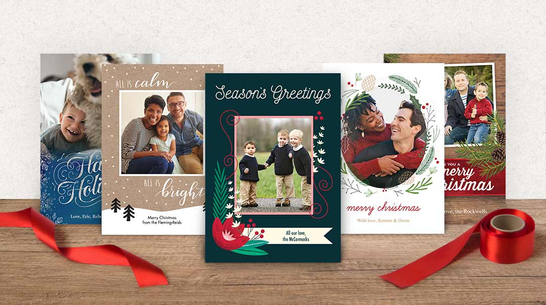 Christmas Photo Cards Create Holiday
