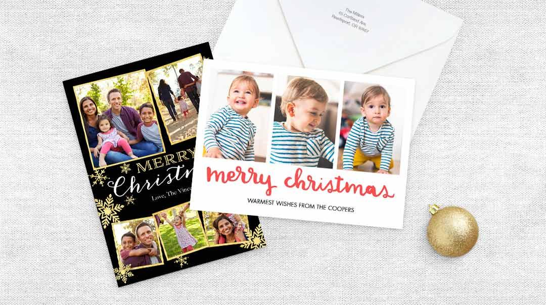 Christmas Notecards.Christmas Photo Cards Create Holiday Photo Cards