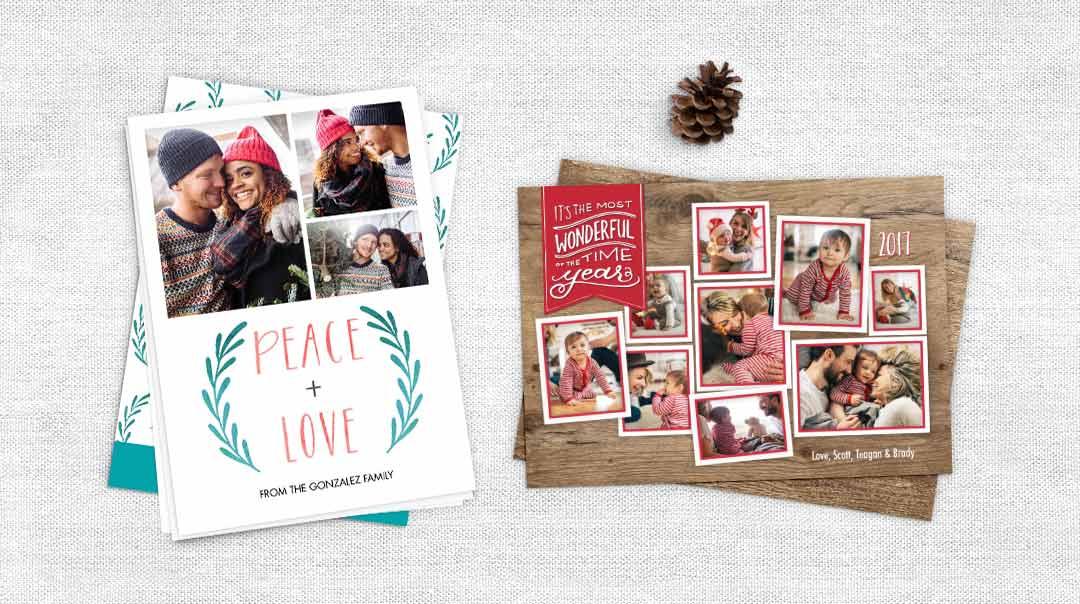 Walgreens Christmas Card.Christmas Photo Cards Create Holiday Photo Cards