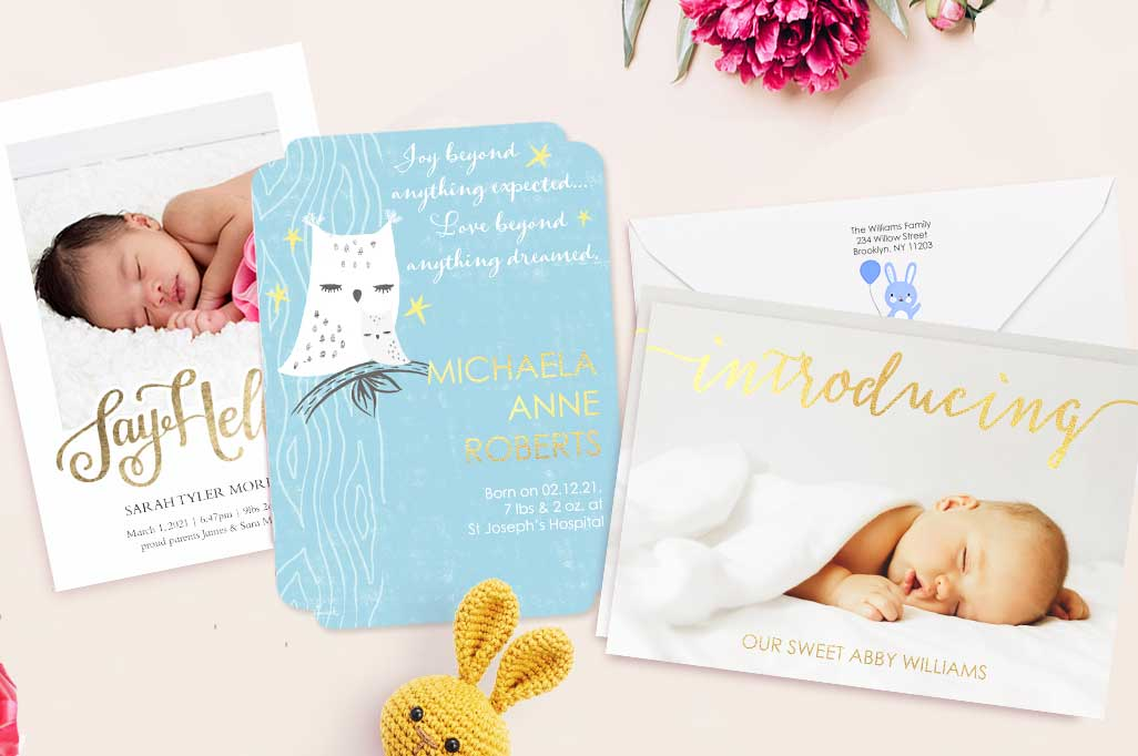 Chic cards for every occasion.  Custom cards with exclusive options on our finest cardstock.