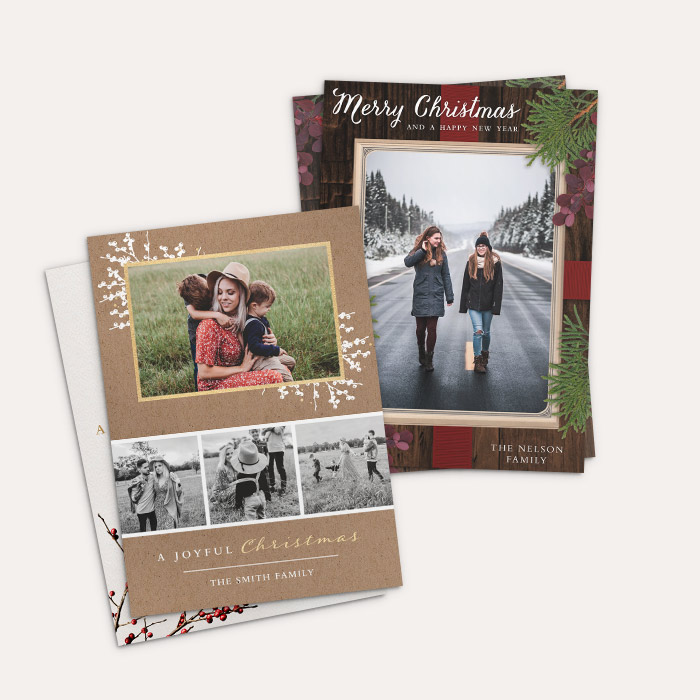 Cardstock Double Sided - Flat Card Set