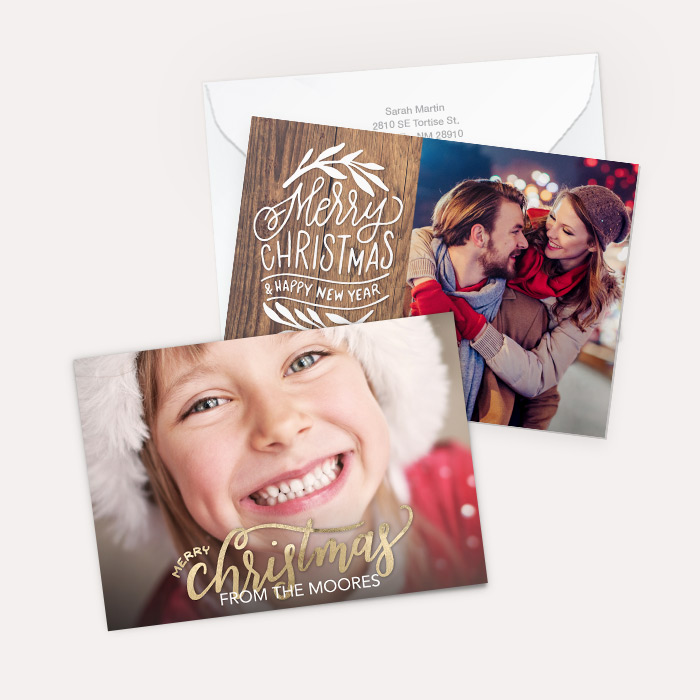 Premium Cardstock Double Side - Flat Card Set