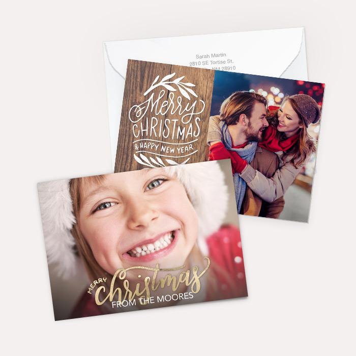 Premium Cardstock Double Side - Flat Card Set