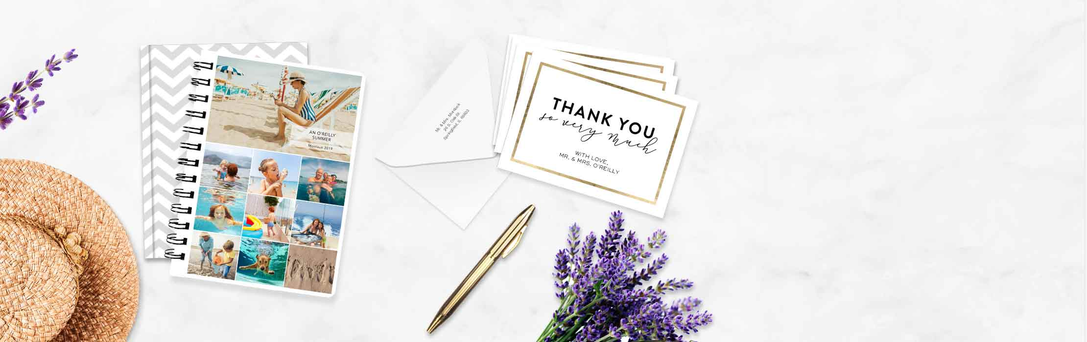 Easy, elegant stationery