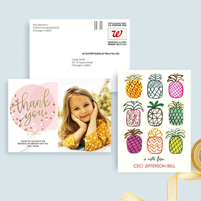 Mail-for-Me Premium 5x7 Flat Card