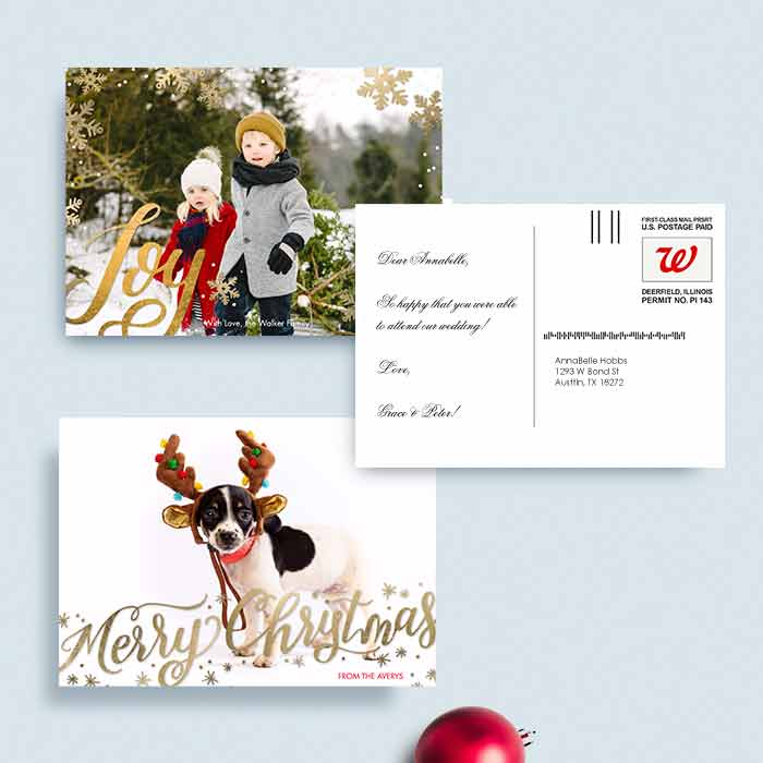 Mail-for-Me Premium 5x7 Postcard