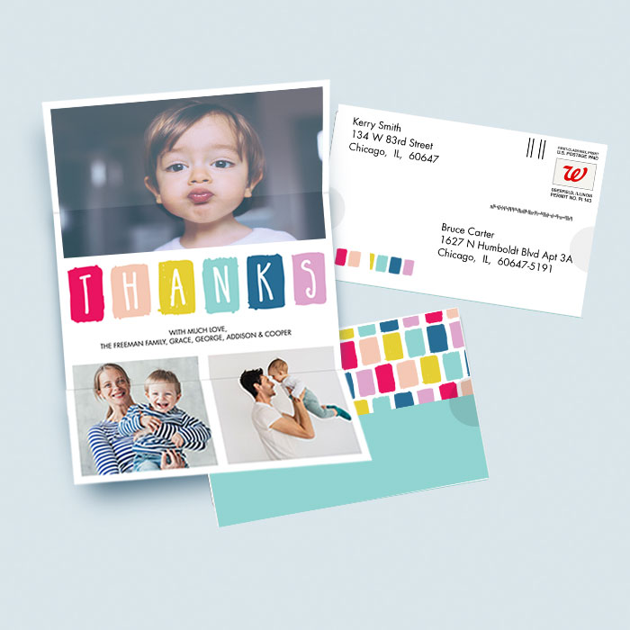 Mail-for-Me Premium 7x10 Seal & Send Card