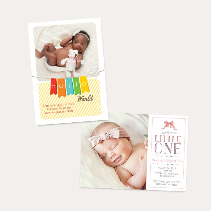 Photo Paper - Flat Card Set