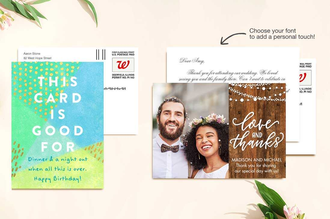 Customized Photo Cards Walgreens
