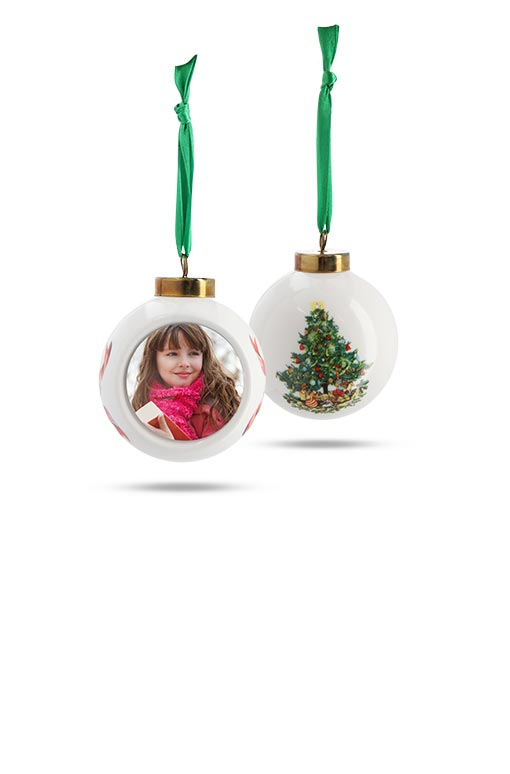 Photo Ornaments - Personalized Holiday Ornaments | Walgreens Photo
