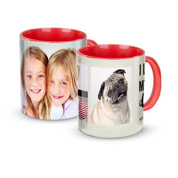 11 oz. Mug, Red
