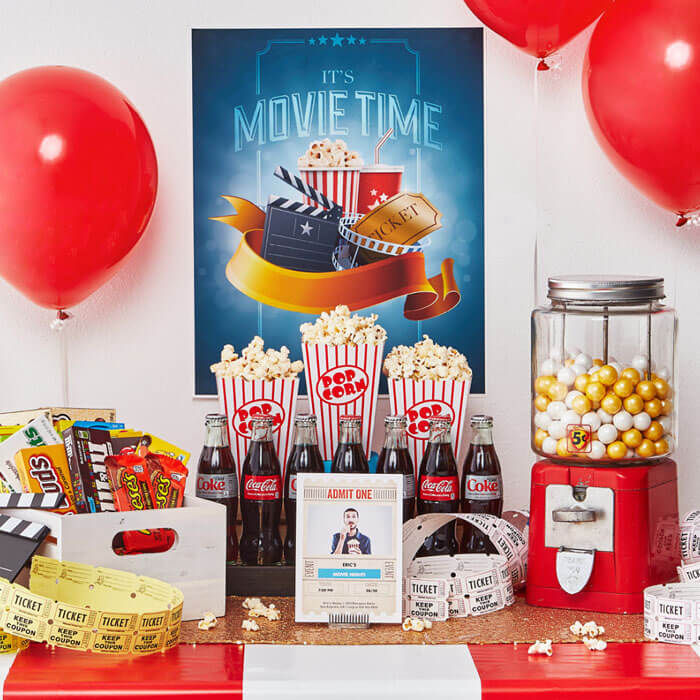 Movie Themed Birthday Party Idea