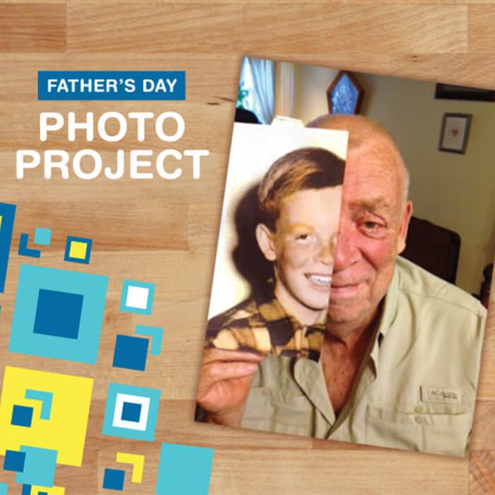Father's Day Photo for Grandpa