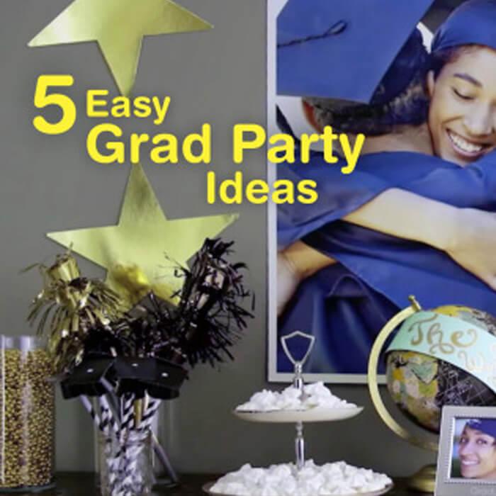5 Easy Graduation Party Ideas