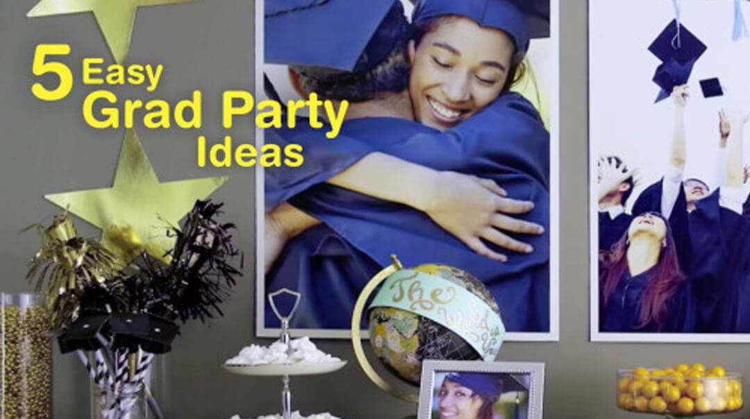 5 Easy Graduation Party Ideas
