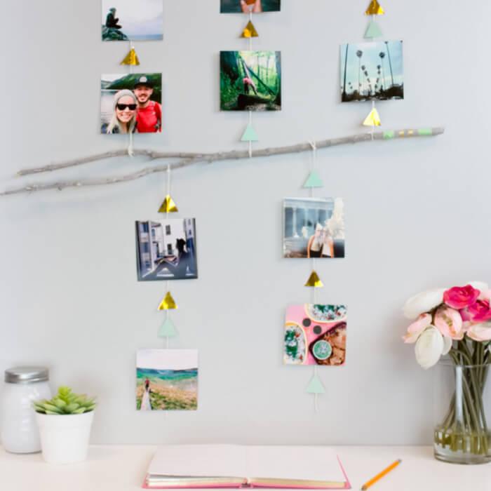 DIY Dorm Room Photo Mobile