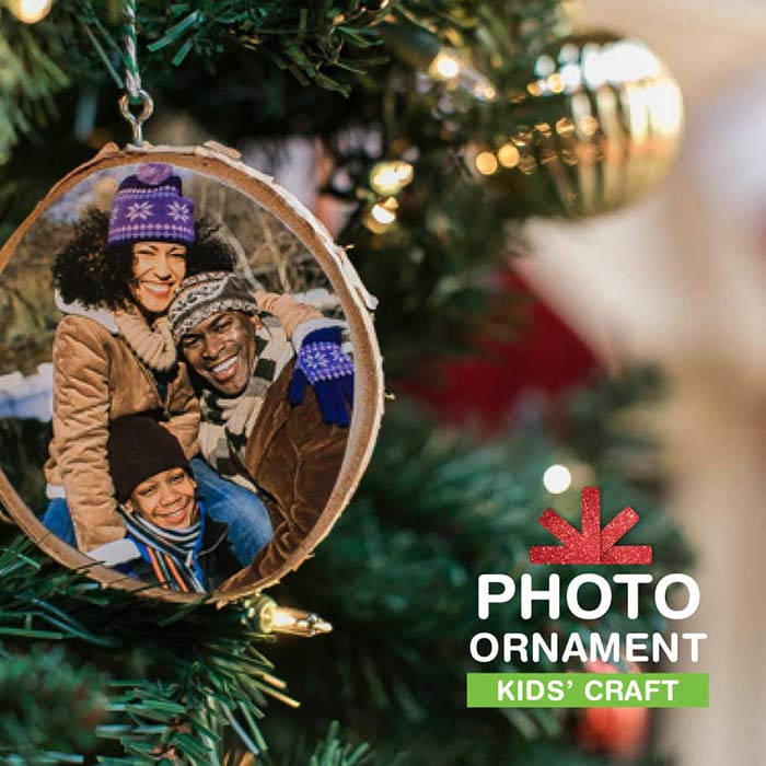 How To Make A DIY Photo Ornament