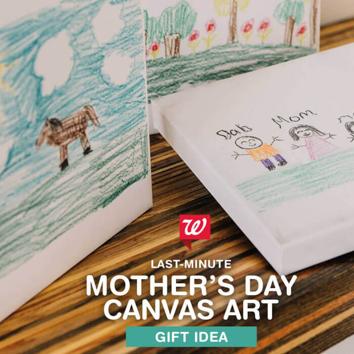 Mother's Day Canvas Art Gift Idea