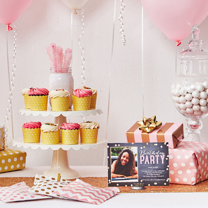 Sweet 16 Birthday Party Idea