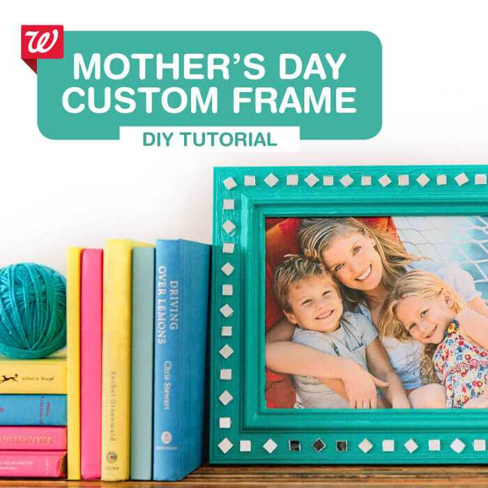Mother's Day Custom Frame