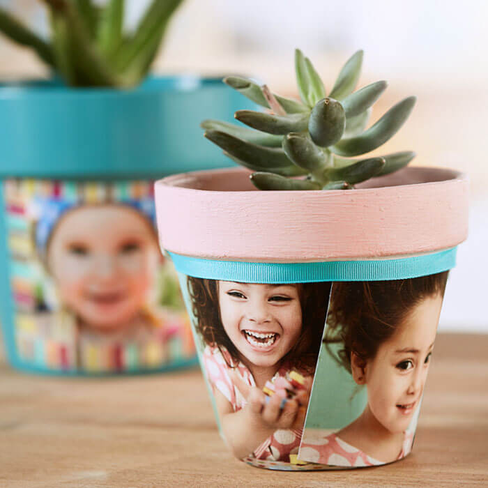 Mother's Day Photo Planter